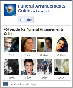 Funeral Arrangements Guide on Facebook